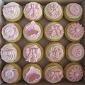 Girly 3rd Birthday Cupcakes (3927306011).jpg