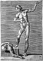 Giulio Bonasone's figures illustrating human anatomy Wellcome L0018654.jpg