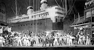 The Red Poppy - A scene from the 1927 production of The Red Poppy