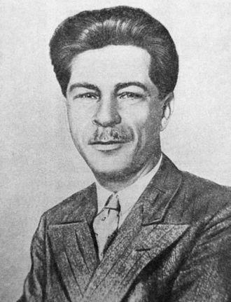 Pavel Postyshev - Image: Globus 1935 05 Pavel Postyshev foto