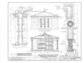 Glover Family Mausoleum, Riverview Cemetery, Demopolis, Marengo County, AL HABS ALA,46-DEMO,2- (sheet 2 of 4).png