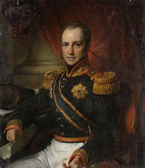 Godert van der Capellen - Baron van der Capellen by Cornelis Kruseman