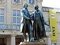 Goethe-Schiller-Denkmal Weimar 1.JPG