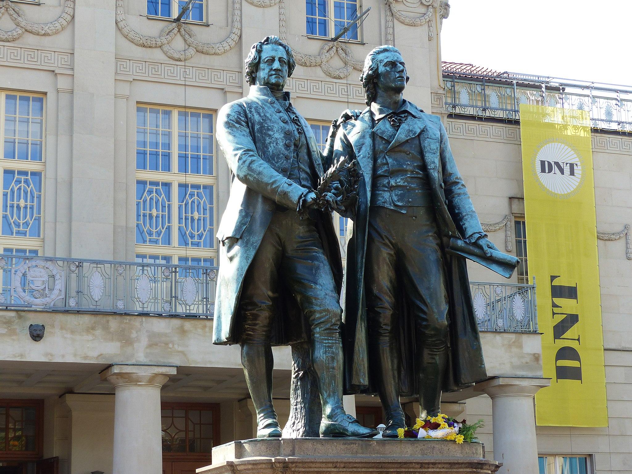 Goethe-Schiller-Denkmal Weimar 1