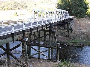 Goodradigbee River - Bridge at Wee Jasper.