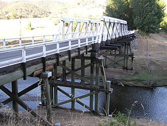 Wee Jasper, New South Wales - Bridge across the Goodradigbee River at Wee Jasper