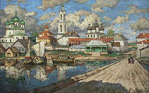 Konstantin Gorbatov - Image: Gorbatov Vid Na Star Gorod 6850