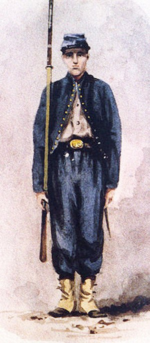 95th Pennsylvania Infantry - An example of a 95th PA uniform.
