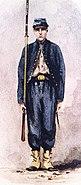 Goslin Zouave, 95th Regt, Pv