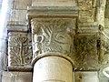 Gournay-en-Bray (76), collégiale St-Hildevert, bas-côté sud, chapiteau de l'arcade vers le transept, côté sud 1.jpg