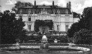 Grüneburgweg und Einfahrt zum Rothschild'schen