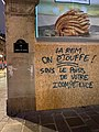 Graffiti anti-LREM, rue de l'Amiral-de-Coligny, Paris 1er.jpg