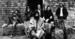 "The Grateful Dead in 1970, from a promotional photo shoot. Left to right: Bill Kreutzmann, Ron ""Pigpen"" McKernan, Jerry Garcia, Bob Weir, Mickey Hart, Phil Lesh."