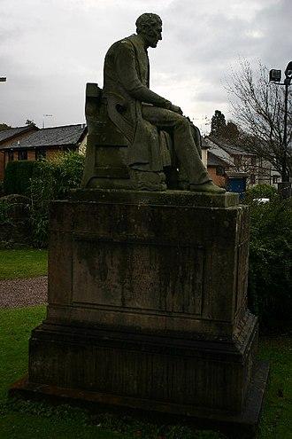 Henry Bell (engineer) - Grave of Henry Bell in Rhu churchyard