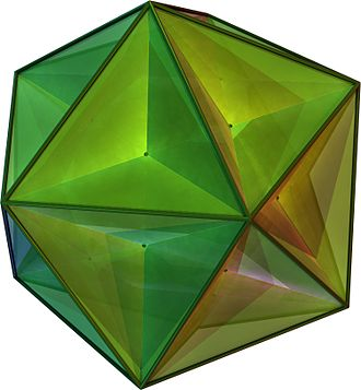 Three-dimensional space - Image: Great Dodecahedron