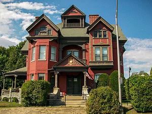 Greene Mansion - Image: Greene Mansion Front