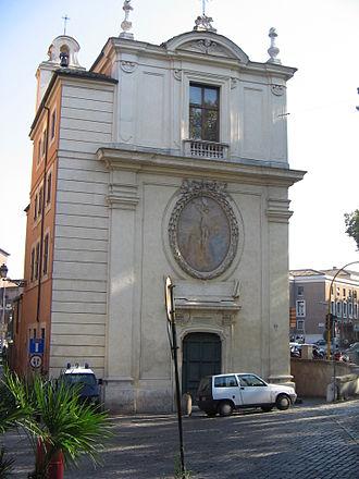 Filippo Barigioni - S. Gregorio a Ponte Quattro Capi, Rome, completed 1729.