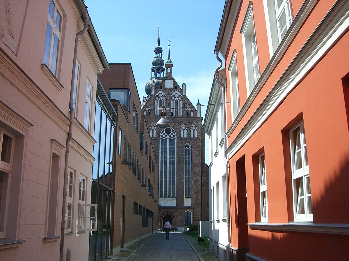 Dirne aus Greifswald, Hansestadt