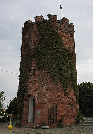Greifswald - Medieval Fangenturm (Prisoners' Tower), Greifswald