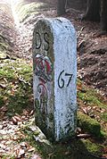 Two boundary stones (No. 8 and 9)