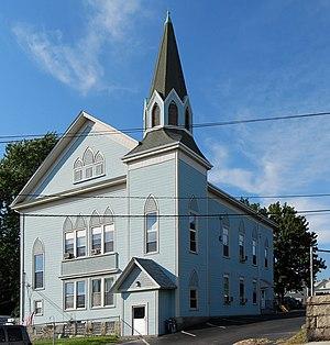 Brayton Methodist Episcopal Church - Image: Griffinst FR