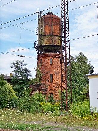 Großkorbetha - Water tower near the train station
