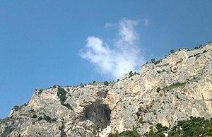 Grotta delle Felci - Image: Grotta delle Felci ITA