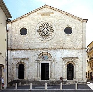 building in Gualdo Tadino, Italy