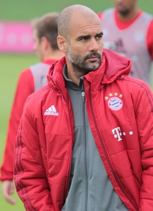 Pep Guardiola - Guardiola with Bayern Munich in 2013