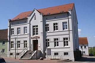 Gützkow Place in Mecklenburg-Vorpommern, Germany