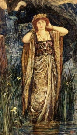 Guinevere - Guinevere by Henry Justice Ford (c.1910)