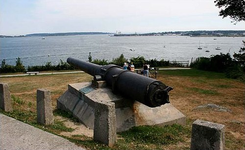 Gun recovered from the USS Maine