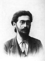 Gustav Landauer alrededor de 1890