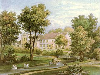 Blumenthal family - Quackenburg, seat of a major branch of the Blumenthal family from the early 18th century onwards