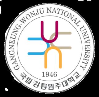 Gangneung–Wonju National University National research university in Korea
