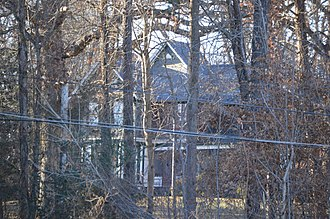 National Register of Historic Places listings in Buckingham County, Virginia - Image: Gwyn Arvon through the trees