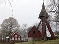 Högstena kyrka Klockstapeln 2010-04-08.jpg