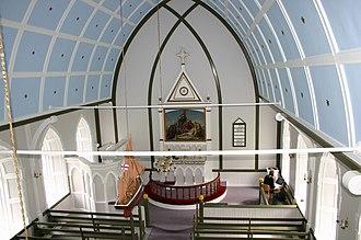 Húsar - Image: Húsar Kirke.2.Kalsoy