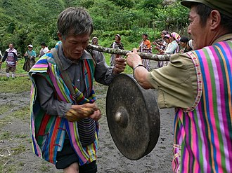 Derung people - Image: H.the Mangluo dance