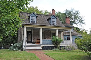 National Register of Historic Places listings in Closter, New Jersey - Image: HARING AURYANSON HOUSE, CLOSTER, BERGEN COUNTY, NJ