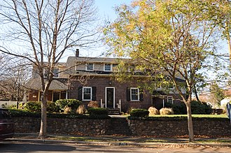 Glen Rock, New Jersey - The Hendrick Hopper House, a historic home on the National Register of Historic Places, is located on Ackerman Avenue in Glen Rock.