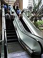 HK 上環 Sheung Wan 新紀元廣場 Grand Millennium Plaza escalators visitors June-2012.JPG