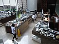 HK Admiralty Conrad Hotel restaurant food counters Aug-2012.JPG