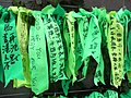 HK Admiralty Tamar Square Ribbon message 016 Green Sept-2012.JPG