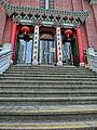 HK CWB Tung Lo Wan 聖馬利亞堂 Saint Mary's Church front door stairs May-2013.JPG