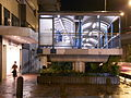 HK Sai Ying Pun night Connaught Garden footbridge July-2012.JPG