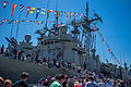 HMAS Darwin and Sydney during International Fleet Review 2013 Open Day (2).jpg