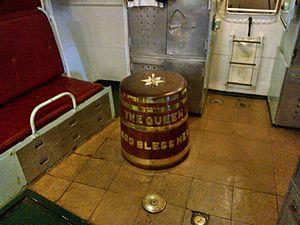Grog - Image: HMS Cavalier grog tub