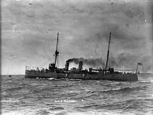 New Zealand Division of the Royal Navy - Image: HMS Philomel (1890)