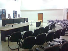 HNLU Moot Court Hall